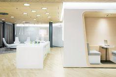 Finnair HOTT — Workspace Office Interiors, Bathroom Lighting, Divider, Mirror, Transportation, House, Furniture, Travel, Home Decor
