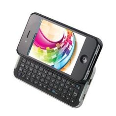 Keystone ECO SLIDER, Bluetooth Keyboard with Sliding Phone Case for iPhone 4S/4 | http://phonecasecollectionsjudson.blogspot.com