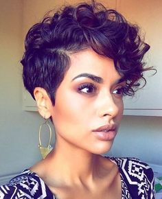 Curly Hairstyles 21 Fabulous Curly Pixie Cuts & Wavy Pixie Cuts for Short Hair Short Curly Pixie Cuts & Wavy Pixie Cuts for black Women Curly Pixie Haircuts, Curly Pixie Cuts, Straight Hairstyles, Girl Hairstyles, Shag Hairstyles, Layered Hairstyles, Black Short Hairstyles, Short African American Hairstyles, Hairstyles 2016