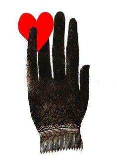 Original Hand heart tattoo
