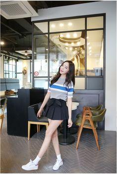 Ribbon Hem Skirt | Korean Fashion