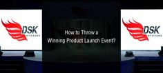 Skilled #event organizers exactly understand your requirement and assure that the product #launch is successful. Check what is needed - http://www.marrquee.com/blog/how-to-throw-a-winning-product-launch-event/