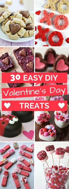 An awesome list of ideas for easy Valentine's Day Treats, and they all look abso… An awesome list of ideas for easy Valentine's Day Treats, and they all look absolutely delicious! You have to try these if you love Valentines day! Valentine Desserts, Valentines Day Gifts For Him, Love Valentines, Valentines Recipes, Kids Crafts, Low Carb Cheesecake, Valentine's Day Diy, Holiday Recipes, Easy