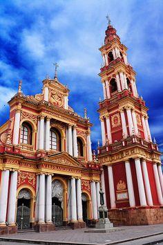 Amérique du Sud, Argentine, Province de Salta, Salta, Église et couvent de San Francisco.