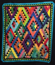 Indian Blanket Quilt Pattern MGD-314 (intermediate, lap and throw)