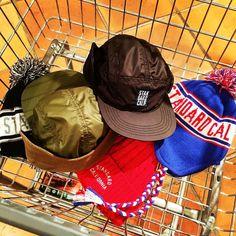 帽子で暖かく #standardcalifornia #スタンダードカリフォルニア #cap #earflap #watchcap
