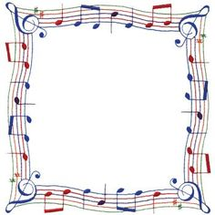 Paper Embroidery Hobbies Embroidery Design: Music Note Border from Dakota Collectibles -