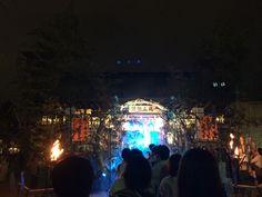 Osaka Tenmanguu shrine Tanabara festival 2014/7/7