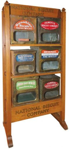 National Biscuit Company Wood Store Display Rack : Lot 7