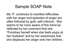 Soap note format template process notes group psychotherapy.