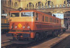 RENFE 269-307 Estrella, Estació de França, Barcelona