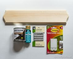 Make a simple sunglasses holder with only a few supplies // DIY // Summer project