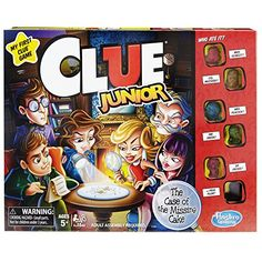 Clue Junior Game * You can get additional details at the image link. Note:It is Affiliate Link to Amazon.