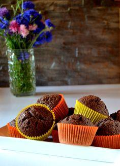 Kaakaomuffinssit Muffin, Baking, Breakfast, Food, Morning Coffee, Bakken, Eten, Bread, Backen