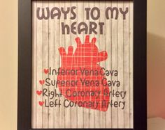 Ways To My Heart Medical Professional or Student Gift.  Great for nurses, doctors, physician's assistants, physical therapists, and more! -    Edit Listing  - Etsy