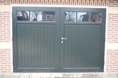 - Lilly is Love Side Hinged Garage Doors, Garages, Home Projects, Interior Architecture, Windows, Cool Stuff, Ramen, Outdoor Decor, House