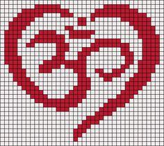 Alpha friendship bracelet pattern added by Shomer. Crochet Stitches Patterns, Perler Patterns, Loom Patterns, Beading Patterns, Embroidery Patterns, Cross Stitch Designs, Cross Stitch Patterns, Pixel Crochet, Cross Stitch Boards
