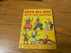 Vintage 1939 Rand McNally Safe All Day with The Happies   eBay