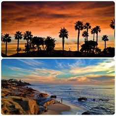Where is your favorite place to watch the sunrise or sunset? #SanDiego #beach #vacation