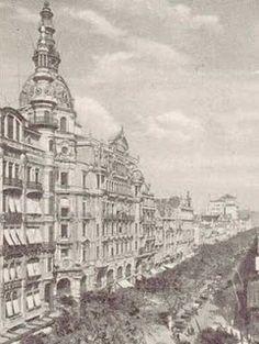Avenida Rio Branco (antiga Avenida Central) - Centro, Rio de Janeiro - RJ, Brasil