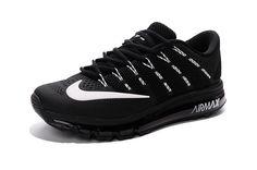 Nike Air Max 2016 Men Black White KPU