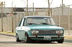 Datsun-lovely to drive, just a pity they rusted so quick!
