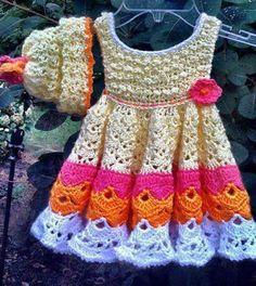 tığ işi elbise modelleri