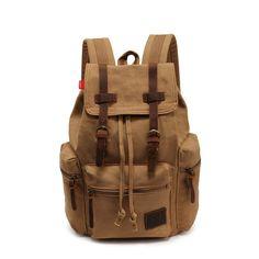 2014 nueva Casual hombres de la lona mochila para hombre Retro Vintage mochilas escolares a los estudiantes hombre exterior bolsas de hombro # hw03017 en de en AliExpress.com | Alibaba Group