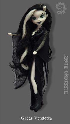 """Bleeding Edge - Greta Vendetta 12"""" Fashion doll Series 8 Begoths in 12 INCH Begoths DOLLS"""