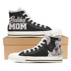 Bulldog Mom - Women's White