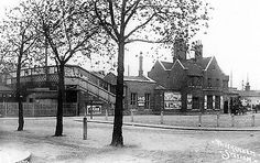 Twickenham Station (the original one) Great Photos, Old Photos, Cool Pictures, Vintage London, Old London, Richmond Upon Thames, St Margaret, London Photos, Local History