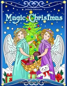 Magic Christmas Coloring Book For Adults By Happy