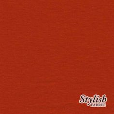 RUST Ponte Roma Fabric RUST solid knit fabric RUST  Ponte di Roma Fabric by the yard - 1 Yard Style 410