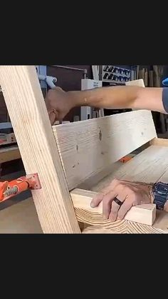 Woodworking Ideas Table, Cool Woodworking Projects, Popular Woodworking, Diy Woodworking, Wood Shop Projects, Small Wood Projects, Diy Furniture Projects, Garage Furniture, Outdoor Furniture Plans
