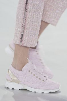 #Chanel #Fashion #HauteCouture #Sneakers