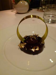 """Cena,  """"La Chevre d'Or"""" (Ristorante), Eze, France (Marzo)"""