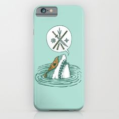 The Ninja Shark iPhone & iPod Case by Nick Volkert | Society6