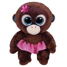 TY Beanie Boo Plush - Nadya the Monkey 15cm in Toys & Games, Beanies, Ty Plush   eBay