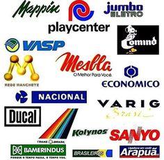 Lembra dessas marcas? . 👉 Siga @flashbacktvoficial ||Curta os posts para continuar recebendo os feeds 👍|| #anos90 #anos70 #anos80…