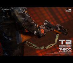 #Terminator2 #Terminator #Battle #DamagedEdition #Masterpiece #JudgementDay #ArnoldSchwarzenegger #Figurines #TerminatorFans #fans #Enterbay #EnterbayUSA #movie #muscular #body #LEDLight #M79Grenade #launcher #accessories #mightyweapons #interchangeable #M79 #M134 #MiniGun #Grenade