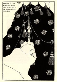 Portrait of Himself - Aubrey Beardsley