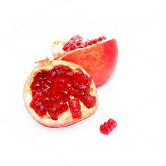 art direction  fancy pomegranate with gummy bears by EvgeniiAnd on @creativemarket food art. food porn.
