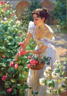 Kai Fine Art is an art website, shows painting and illustration works all over the world. Classical Art, Romantic Art, Classic Art, Art Painting, Fine Art, Female Art, Beautiful Paintings, Art Pictures, Aesthetic Art