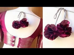 Simple Kurta Designs, Fancy Blouse Designs, Bridal Blouse Designs, Blouse Neck Designs, Saree Tassels Designs, Indian Jewelry Sets, Stylish Blouse Design, Party Wear, Youtube
