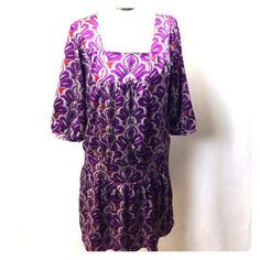 """Selling this """"Drop Waist Paisley Dress"""" in my Poshmark closet! My username is: adarcus. #shopmycloset #poshmark #fashion #shopping #style #forsale #The Limited #Dresses & Skirts"""