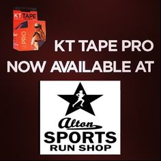 KT Tape & KT Tape Pro now available in Alton Sports, UK.