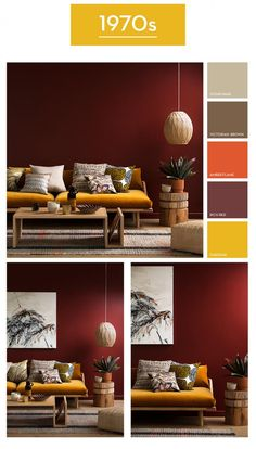 Haymes Paint - 1970s palette
