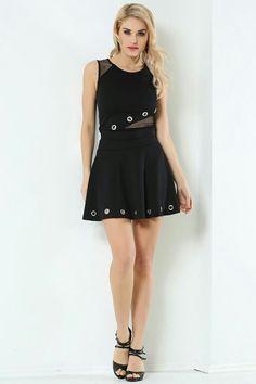 Skater Skirt, Skirts, Black, Tops, Dresses, Fashion, Gowns, Moda, Black People