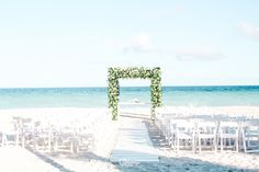 Simple yet elegant this is just the perfect gazebo your ceremony needs.🌺✨ #LiveLoveandRemember #DestinationWedding #Love