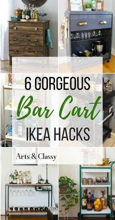 Ikea Bar Cart Makeovers